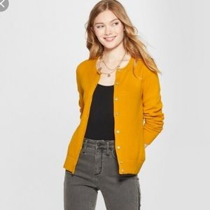 Soft Yellow Cardigan
